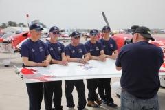 Global stars aerobatic team mark jefferies (77)